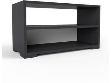 Lowboard Schwarz - Designer-TV-Board: Hochwertige Qualität, einzigartiges Design - 77 x 43 x 35 cm, Komplett anpassbar