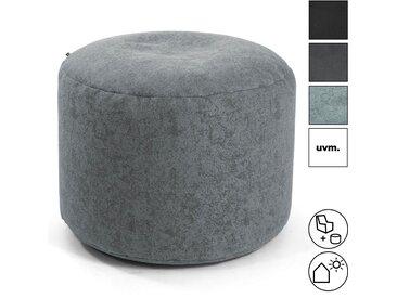 Pouf 'Der Ruhepouf' rundes Sitzkissen oder Hocker