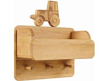 Laura Garderobe mit Ordnungsfach und Traktor