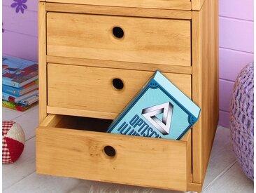 Spar-Set: Laura Office Element mit drei großen Schubladen Erle