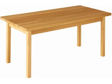 Robin Kindergartentisch rechteckig 120x60 Höhe 52 cm Erle