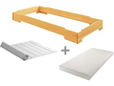 Kai Stapelbett 90x200 mit Roll-Lattenrost und bionik Matratze