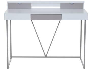Zoltac - Schreibtisch weiß mit Schubladen