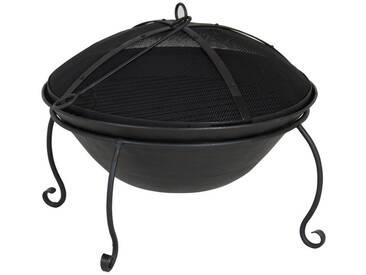 Challingham - Feuerkorb schwarz Eisen