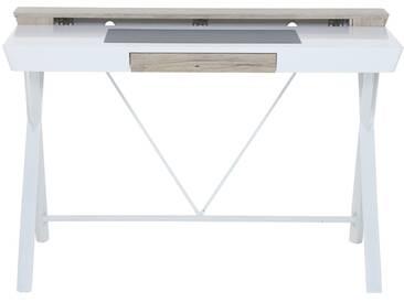 Elise - Schreibtisch weiß Schubfach Auszug
