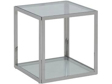 Cub - Würfel silber 2 Klarglasplatten