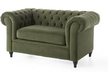 2-Sitzer Sofa Valentina in grün