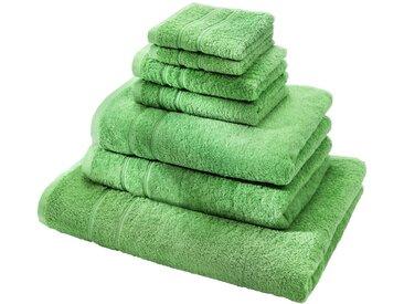 Handtuch Set (7-tlg. Set) in grün