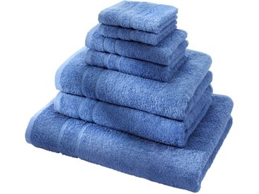 Handtuch Set (7-tlg. Set) in blau