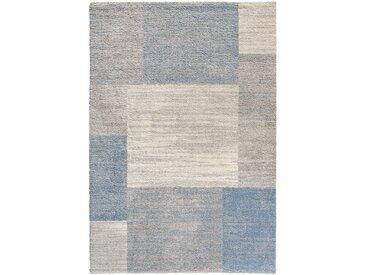 Teppich mit Pastellfarben in blau