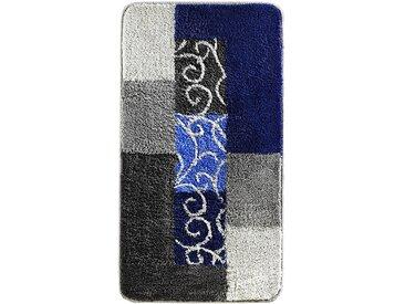 Badematte in weicher Tuft-Qualität in blau