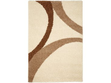 Hochflor Teppich Patsy in beige