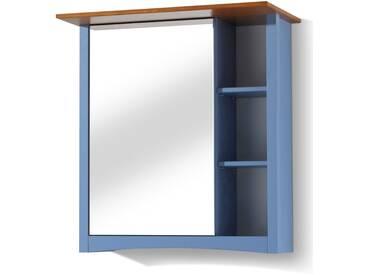 Spiegelschrank Paula in blau