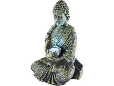Solar Dekoleuchte Buddha grau bonprix