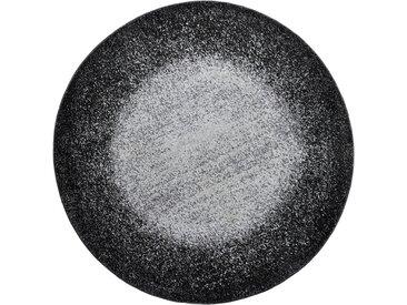 Runder Teppich mit Farbverlauf grau bonprix