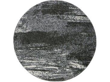 Runder Teppich Bergen in grau