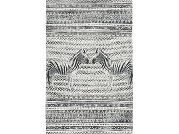 Teppich Zebra in beige