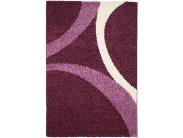 Hochflor Teppich Patsy in lila
