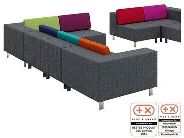 SMV 90deegree Akustik-Loungeelemente mit Rückenkissen