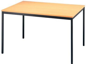 Nienhaus Konferenztisch-Modul Meeting Standard Vierkantrohr, 120 x 80 cm