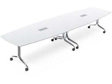 Interstuhl NESTYis3 Klapptisch / Konferenztisch in Bootsform