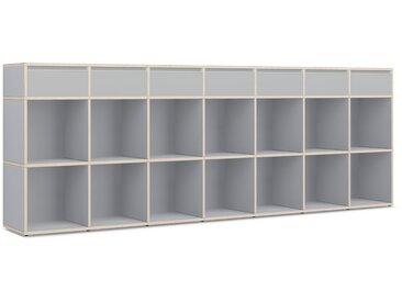 Konfigurierbare Kommode mit Schubladen. Aus Multiplexplatte in