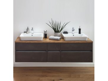 Puris Unique Badmöbel 172 cm , Waschtisch mit Unterschrank