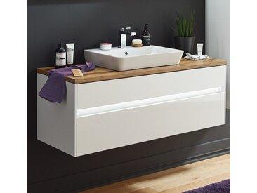Puris Unique Badmöbel 122 cm , Waschtisch mit Unterschrank