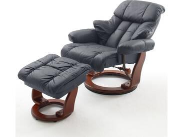 MCA furniture Relaxer Calgary mit Hocker Gestellfarbe wählbar