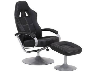 MCA furniture Relaxer Noa mit Hocker: Artnr. 64056CS7