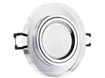 LED Glas Einbaustrahler rund 12V oder 230V, klar #RD7