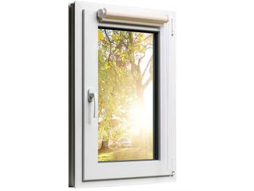 Fensterrollo Duorollo mit Sichtschutz und Sonnenschutz inkl. Klemmfixfunktion und Montagematerial Creme 85 x 160