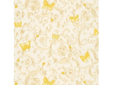 Versace-Tapeten 343251  Versace 3  Beige / Crème Gelb Grau Klassisch online kaufen