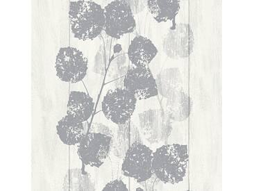 Tapete 33926-1 BRIGITTE Home Brigitte 6 Vliestapete grau metallic weiß Tapete Floral online kaufen