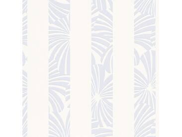 Tapete 32760-2 ESPRIT Home Esprit 12 Vliestapete blau beige / crème weiß Streifentapete online kaufen