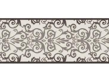 Tapete 93547-2 A.S. Création Versace Vliestapete anthrazit weiß Barocktapete online kaufen