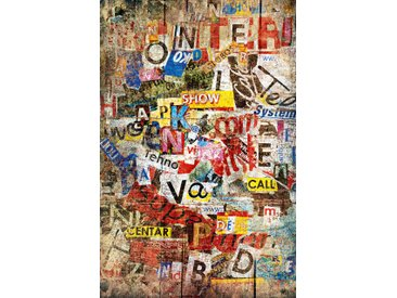 "Giant Art XXL-Poster W636 ""Grunge Typo"""