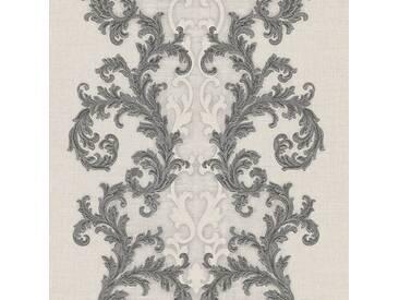 Tapete 96232-5 A.S. Création Versace 2 Vliestapete grau metallic weiß Barocktapete online kaufen