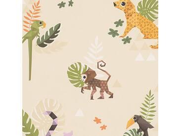 Tapete 30303-2 ESPRIT Home Esprit Kids 4  Papiertapete beige / crème bunt Kinderzimmer Tapete online kaufen