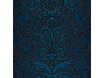 Tapete 93545-4 A.S. Création Versace Vliestapete blau weiß Barocktapete online kaufen