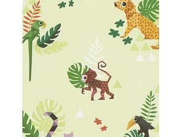 Tapete 30303-3 ESPRIT Home Esprit Kids 4  Papiertapete bunt grün Kinderzimmer Tapete online kaufen