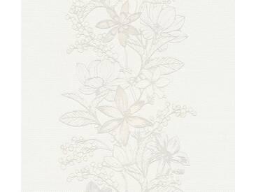 Tapete 357541 Esprit HOME Esprit 13 | Tapete Grau Weiß Floral Modern online kaufen
