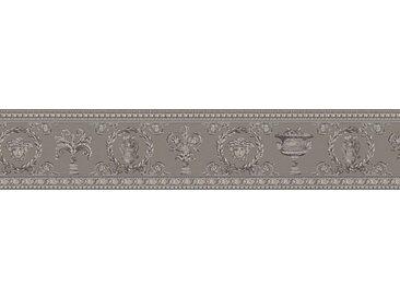 Versace-Tapeten 343053  Versace 3  Beige / Crème Grau Natur Floral Klassisch Neo-Klassik online kaufen