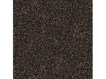 """Desso Twist """"A995 9113"""" braun melierte selbstliegende Teppichbodenfliesen Textil Fliese loses Verlegen Langflor Shaggy luxuriös zweifarbig fußwarm weiche Oberfläche Objekteignung"""