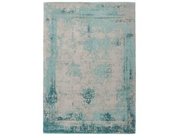 Teppich Nostalgia 285 Türkis 160 x 230 cm | Retro Patchwork Teppich kaufen