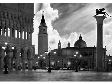 Fototapete no. 1664   Vliestapete Venedig Tapete Kirche Himmel San Giorgio Maggiore schwarz weiß