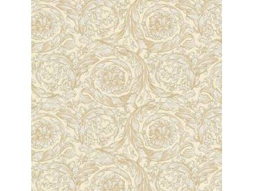 Tapete 93583-1 A.S. Création Versace Vliestapete beige / crème Klassische Tapeten online kaufen