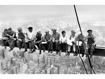 "Giant Art XXL-Poster W672 ""Eating above Manhattan"""