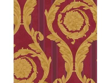 Tapete 93568-3 A.S. Création Versace Vliestapete gold rot Barocktapete online kaufen