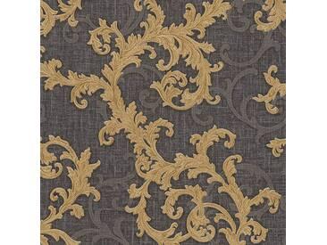 Tapete 96231-6 A.S. Création Versace 2 Vliestapete grau metallic schwarz Barocktapete online kaufen
